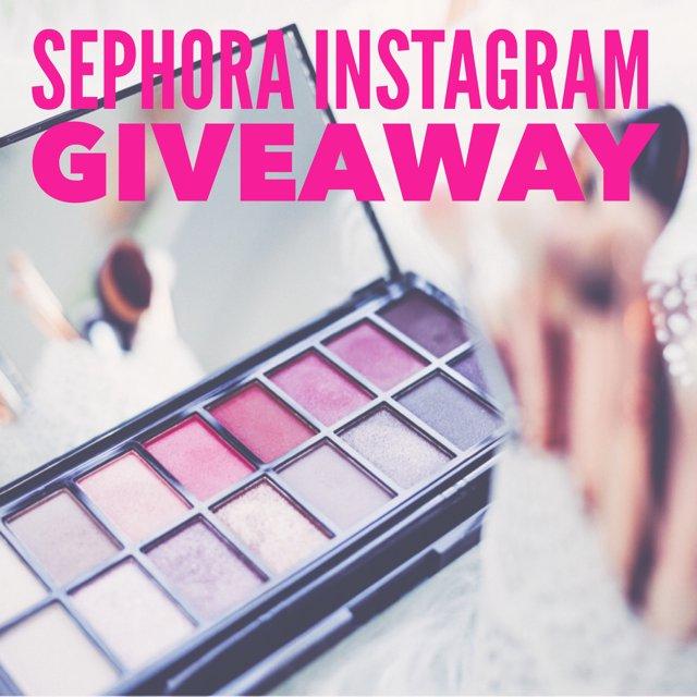 Sephora Instagram Giveaway