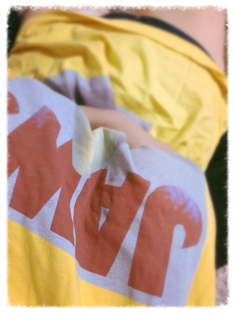 なんのTシャツかわかるかな(´,,•ω•,,)? https://t.co/II5a35ynKV