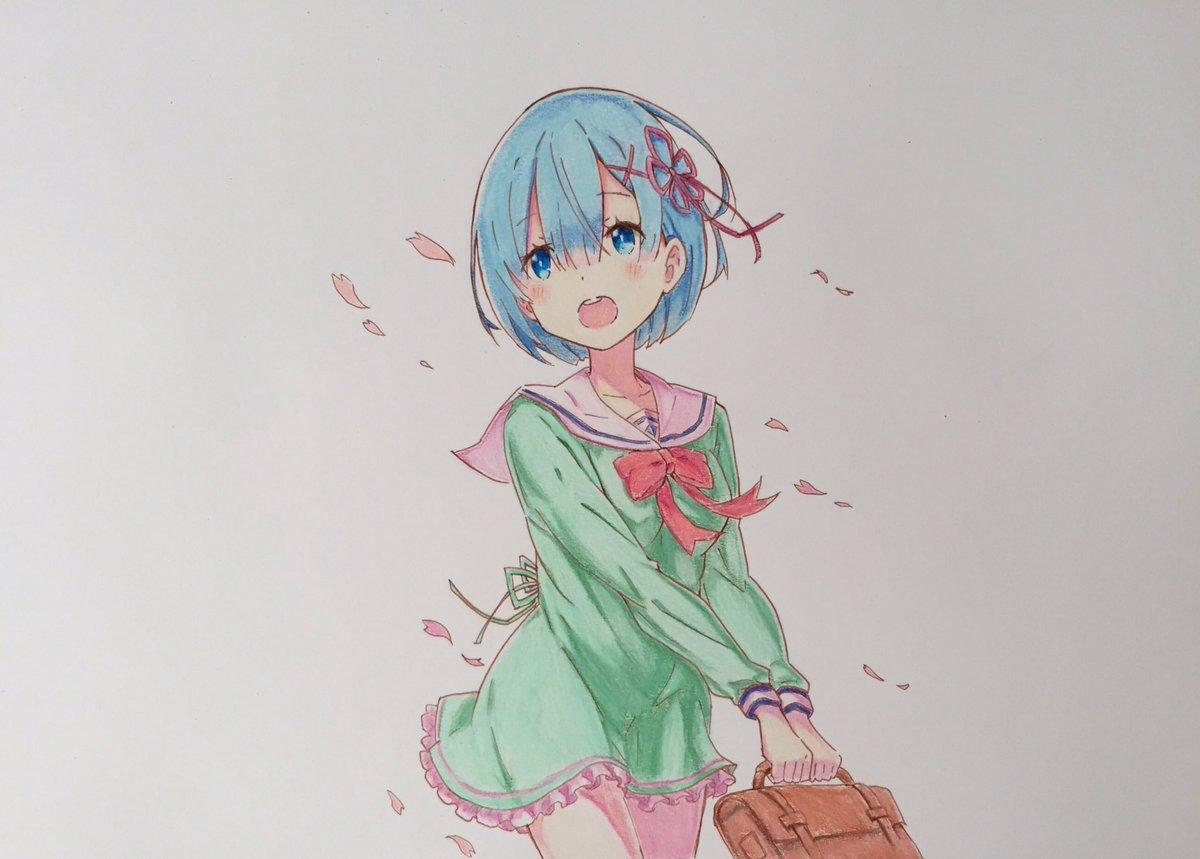 レム描きました!#rezero #模写