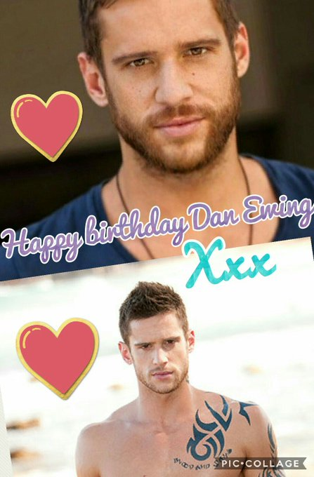 happy birthday to dan ewing hope you have a great day :) <3 x