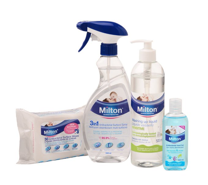 WIN 1 of 10 Milton Hygiene Kits! Giveaway Freebie Comptition Prize SundayFunday