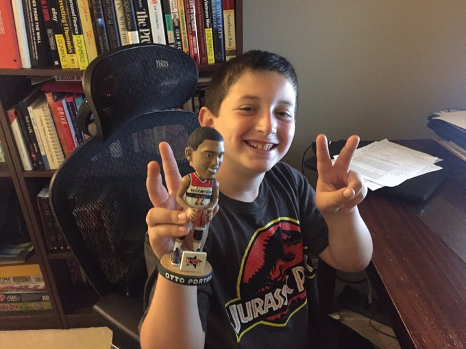 Happy Birthday Mr. Otto Porter from one of your biggest fans (w/ his favorite bobblehead)