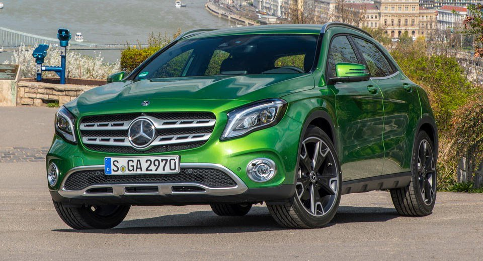 Facelifted Mercedes GLA Available From $43,900 In Australia