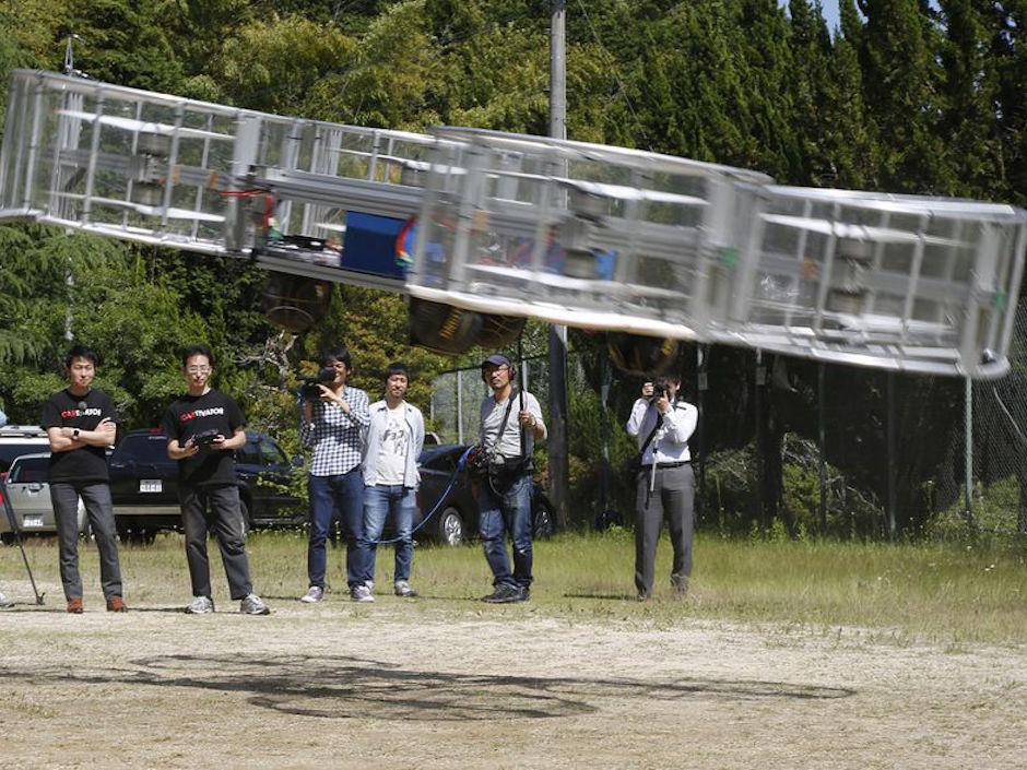 Toyota invests $386,000 in 'flying car' they hope will light torch at 2020 Tokyo Olympics