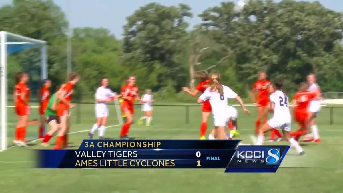 Ames girls hold on to take 3A state soccer championship