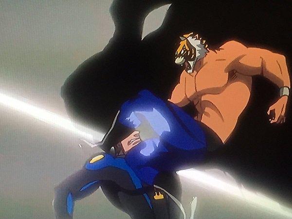 今回のタイガーマスクW、タイガーの必殺技がまさかの「虎王」で、上手いこと言ったつもりか感がある。
