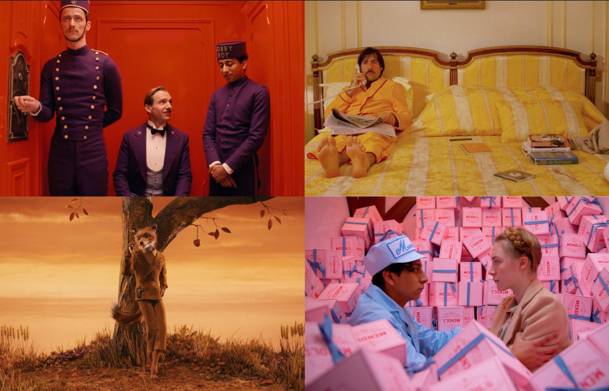 Class, comfort, nature, love. I wish more filmmakers had an appreciation for color like Wes Anderson. https://t.co/0hsp2qzSJT
