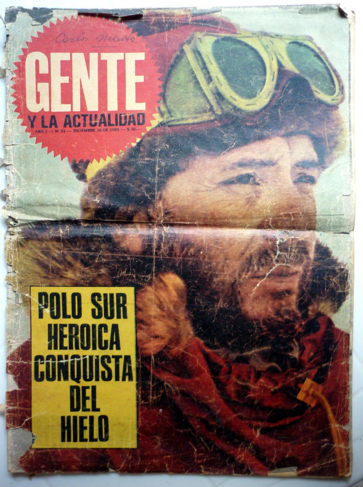 Adiós a un patriota, Gral Jorge Leal, integrante de la 1ra expedición argentina que llegó al Polo Sur en 1965. https://t.co/uZLha99KI0