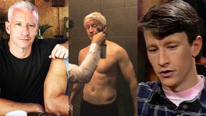 Happy birthday Anderson Cooper! The CNN silver fox s hottest moments
