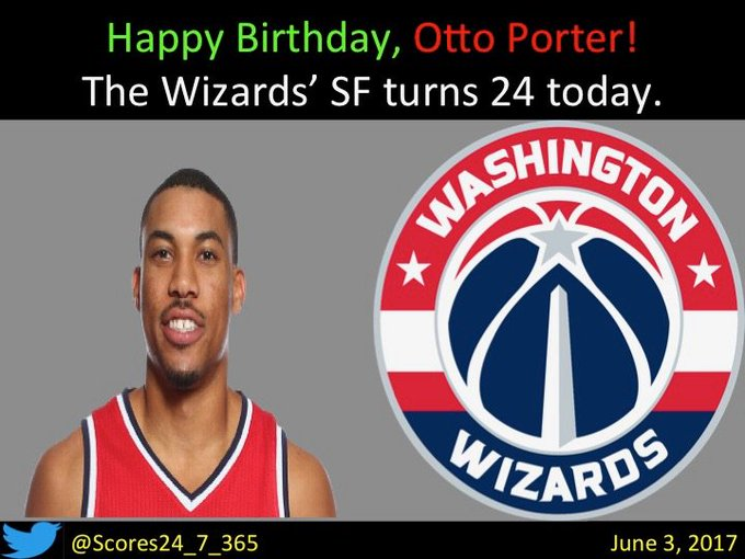 happy birthday Otto Porter!