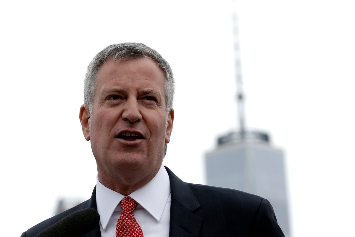 The New York City mayor's climate change stance is seen as hypocritical