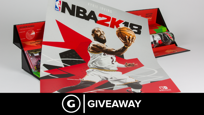NBA 2K18 Limited Edition Box Set Giveaway