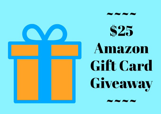 $25 Amazon Gift Card Giveaway – Ends 6/30/17