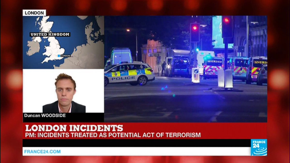 "?? London Attacks: PM Theresa May describes incidents as ""potential acts of terrorism"""