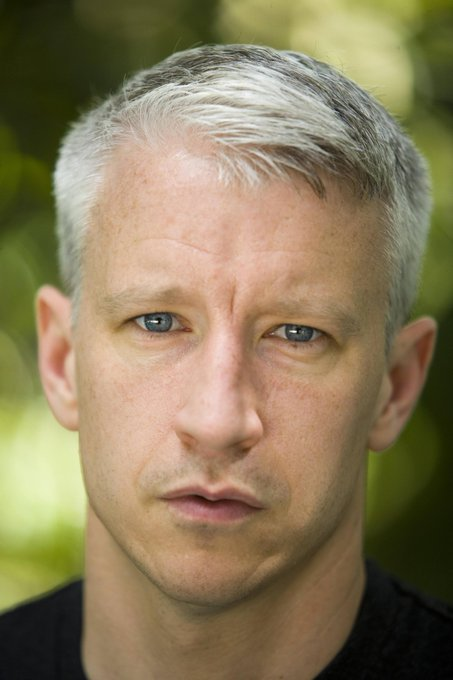 Happy 50th Birthday to Anderson Cooper, Silver Fox of Silver Foxes.
