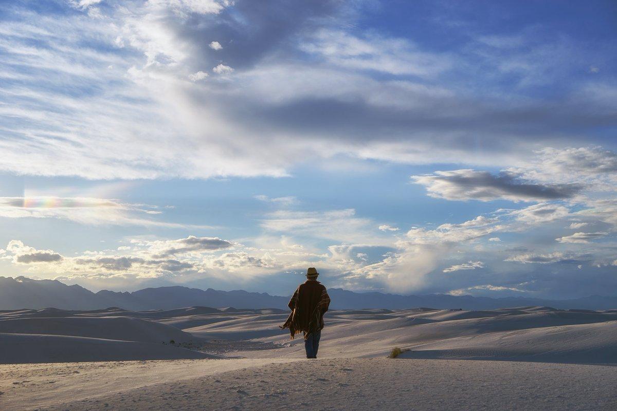 『楽園追放』「最果てへの放浪。しかして、その先にはきっと」ニューメキシコ州ホワイトサンズ国定記念物にて。#写真好きな人と