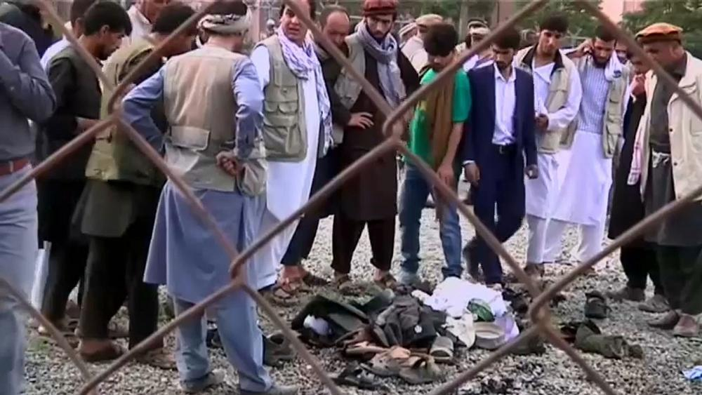 Mourners targeted in Afghanistan