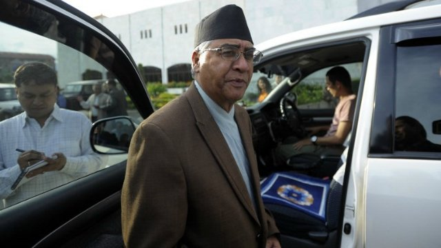 Sher Bahadur Deuba sole candidate in PM race, voting on Tuesday