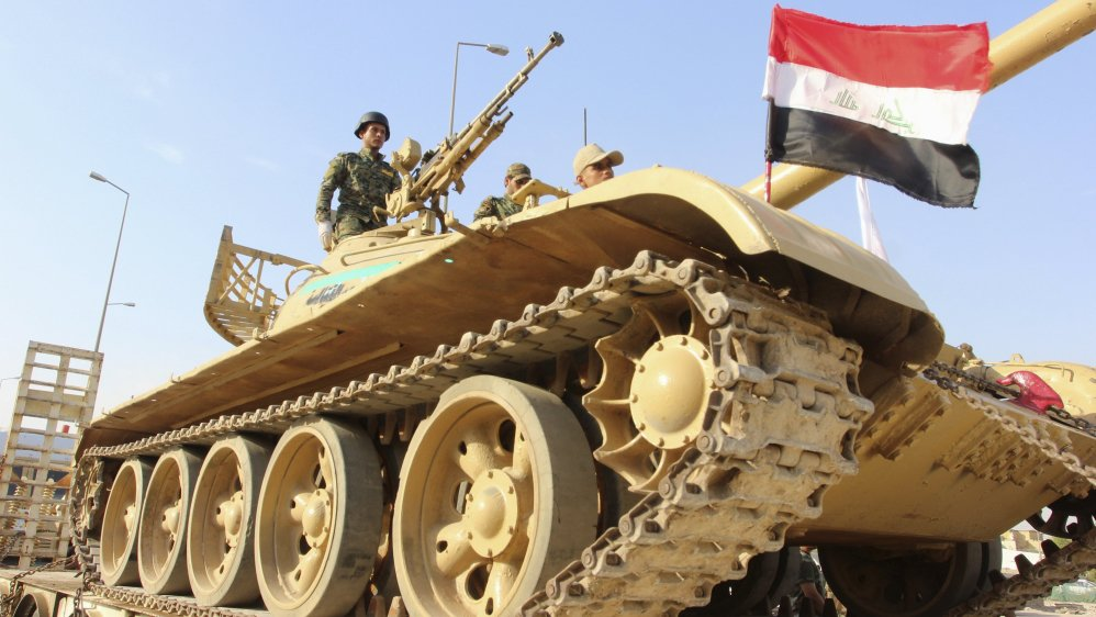 Iraq's pro-government forces retake Al-Baaj from ISIL