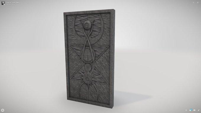 3D Modeling, Gate of Truth