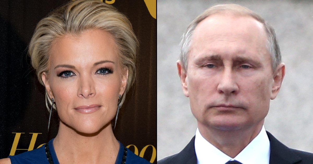 Megyn Kelly sparred with a defiant Vladimir Putin on her NBC show's debut: