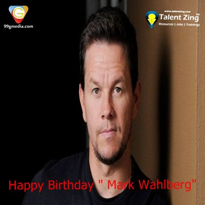 "Happy Birthday Dear "" Mark Wahlberg\"""