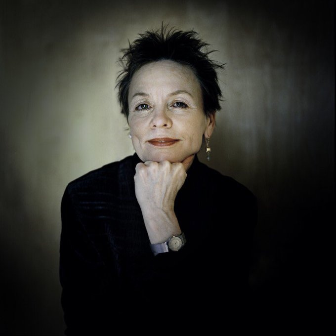 A happy 70th birthday to Laurie Anderson!