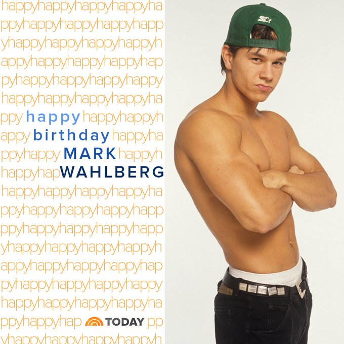 Happy birthday, mark_wahlberg!  via TODAYshow