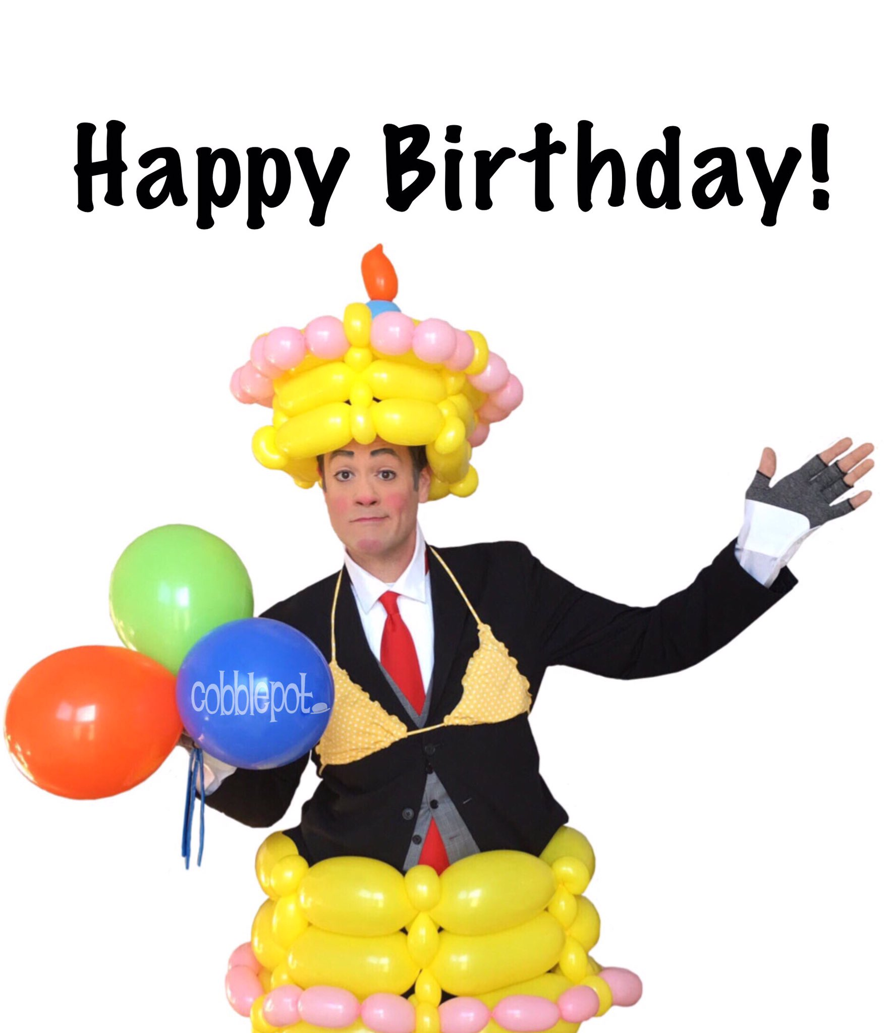 Happy birthday to one of the funniest people I\ve ever witnessed, Captain Fatbelly himself,