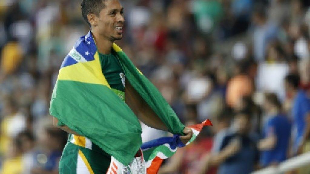 South Africa's Van Niekerk wins 200m dash in Boston