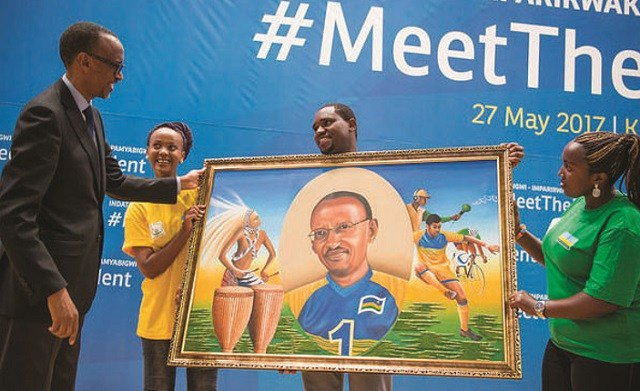 Kagame pledges support to sports