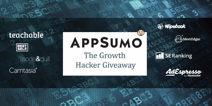 The Growth Hacker Giveaway (Value: $28,260)!