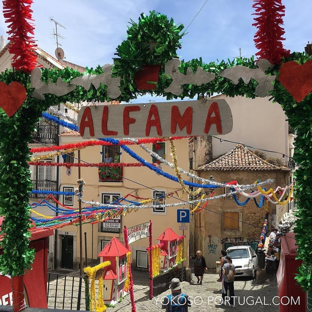 test ツイッターメディア - レトロなイワシ祭りの飾り付け。  #リスボン #ポルトガル https://t.co/zcSrKOc1bn