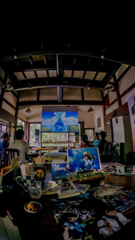 グラスリップファンイベントは6月24日です。場所はグラスリップの聖地カフェコトノハさんです♪そのタイトルは「カゼミチの便