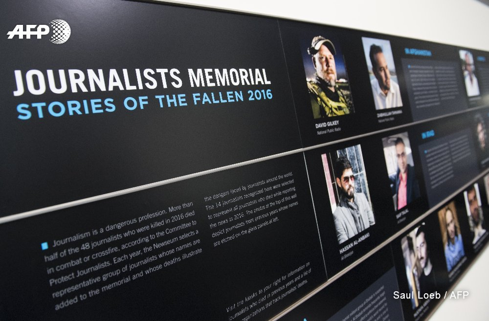 Slain journalists honored as dangers to press highlighted