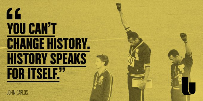 On this day 72 years ago, a black icon was born. Happy birthday, John Carlos.