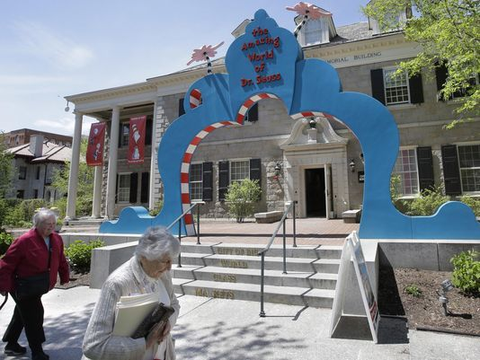 Oh the Places You'll Go! Dr. Seuss museum opens doors