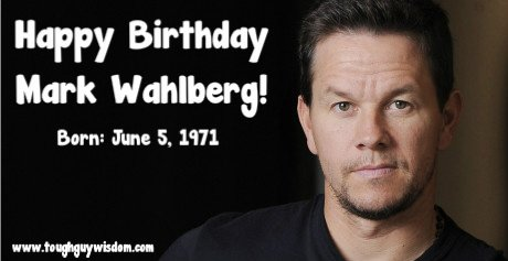 Happy 46th Birthday to Mark Wahlberg!