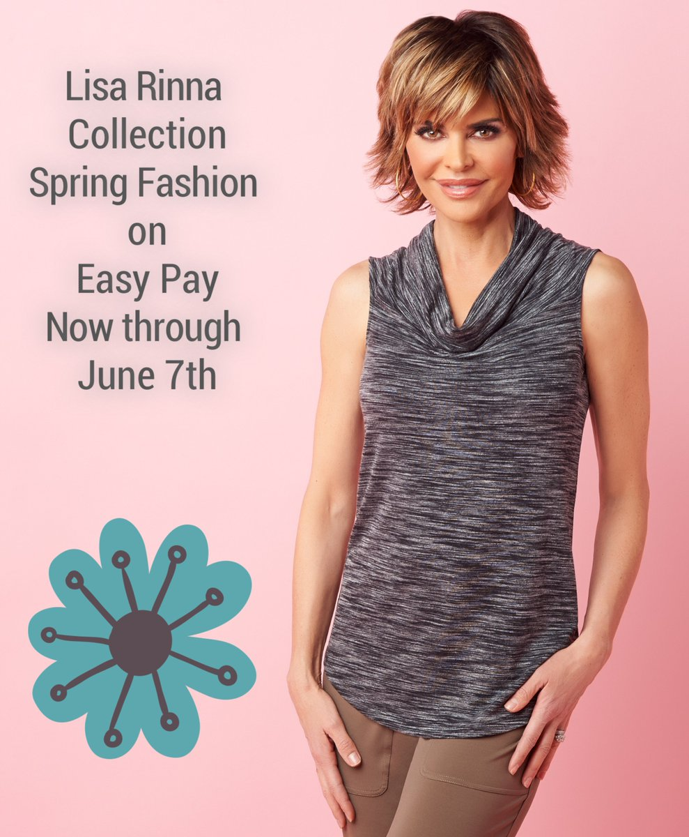 The Lisa Rinna Collection Spring Fashion on Easy Pay! Now through June 7th!  --> https://t.co/JLi6wRlpgT https://t.co/FgGL9OZWxr