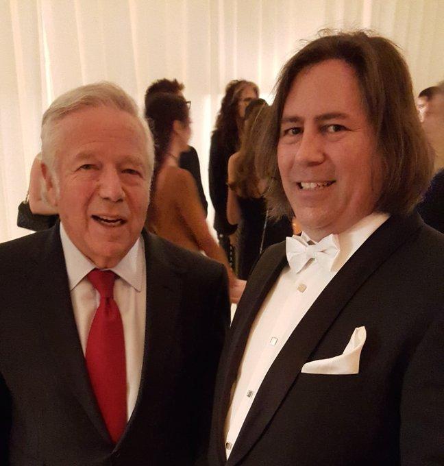 Happy Birthday to one of my 32+ favorite bosses, Robert Kraft.