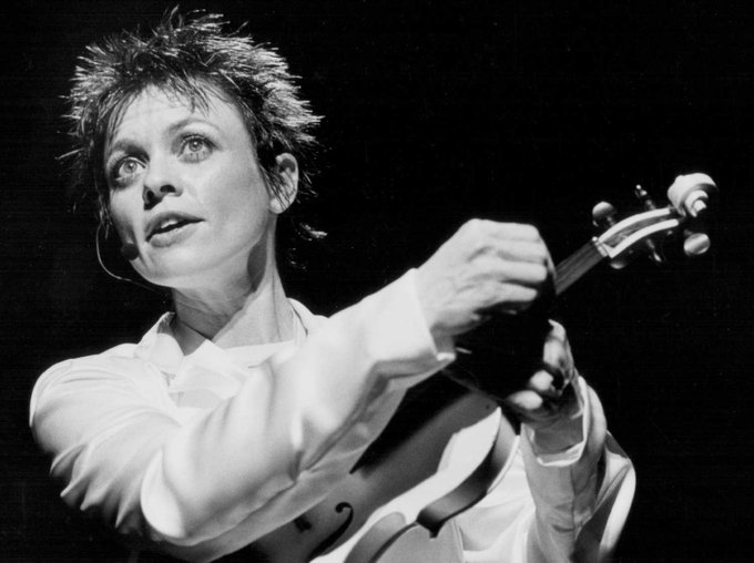 Happy birthday to Laurie Anderson