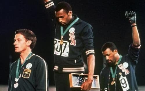 Happy Birthday John Carlos! The athlete who left an iconic impression on the world in the Olympics \68.