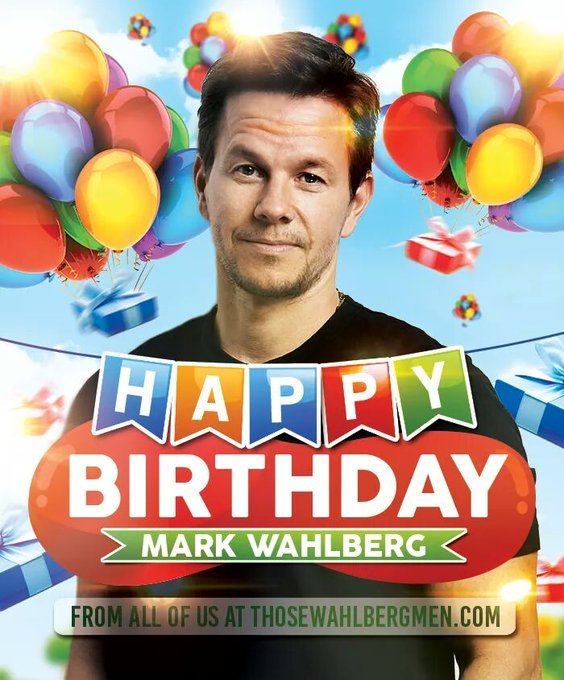 Happy birthday mArk walhbugrs
