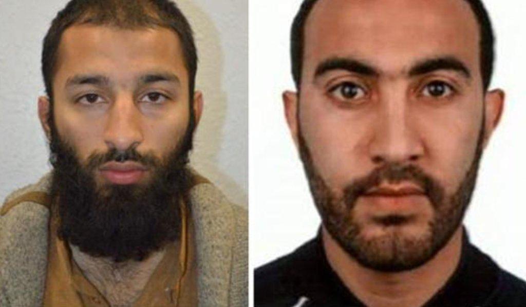 London authorities name two of three suspects in Saturday attacks near London Bridge: