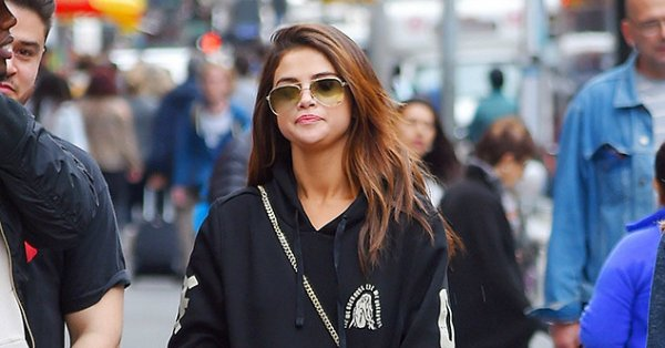 Selena Gomez rocks The Weeknd's tour merch after jetting off to New York to support him: