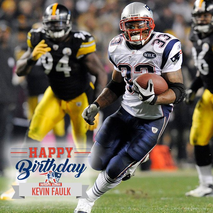 Happy Birthday, Kevin Faulk!