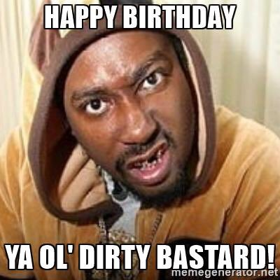 bin watchin nothing but u all day, an last night!! Happy birthday old balls!