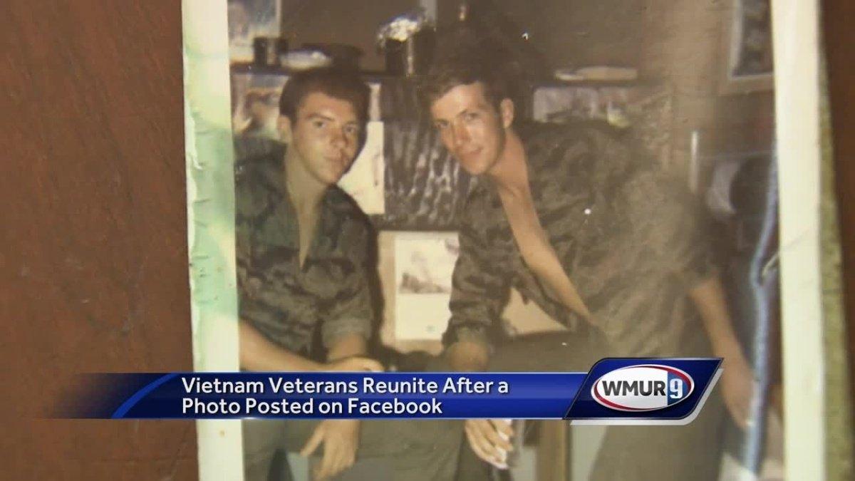 Vietnam veterans reuniting thanks to social media