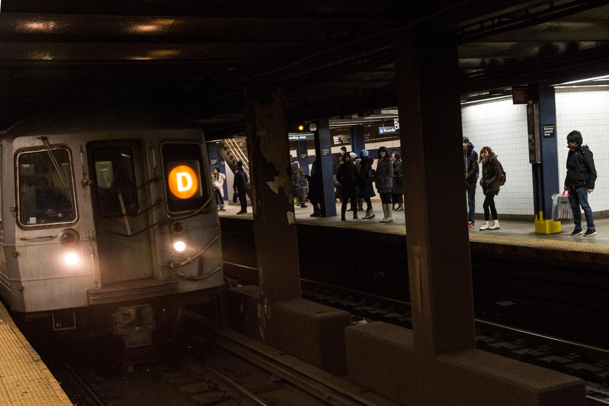 A ballet dancer saved a homeless man's life in a dramatic rescue on the New York subway