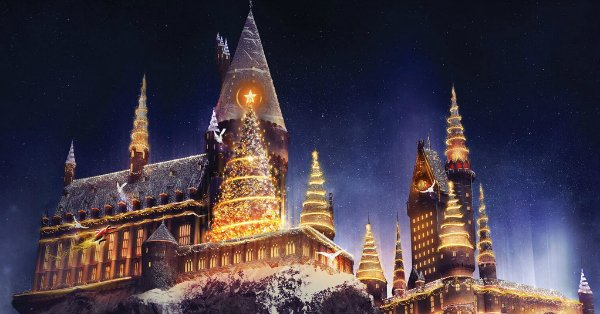 It's going to be a magical Christmas at Universal Studios Hollywood: